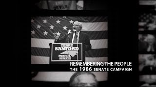 Terry Sanford: Remembering the People: the 1986 Senate race (10/12)