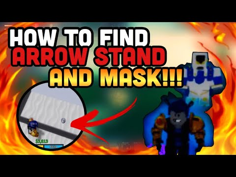 How To Find Arrow Stand And Mask Spawns Easy Jojo Blox Roblox Youtube Farm arrow, rebirth, mask, tp to location/farm mobs. how to find arrow stand and mask spawns easy jojo blox roblox