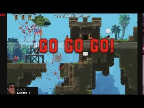 Broforce Hidden Characters found with mod