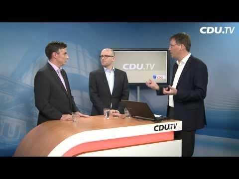 Videochat mit David McAllister und Peter Tauber