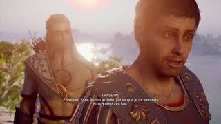 Assassin's Creed Odyssey Romance Gay Alexios & Thaletas français FR 09 - Piste de fleurs et secrets