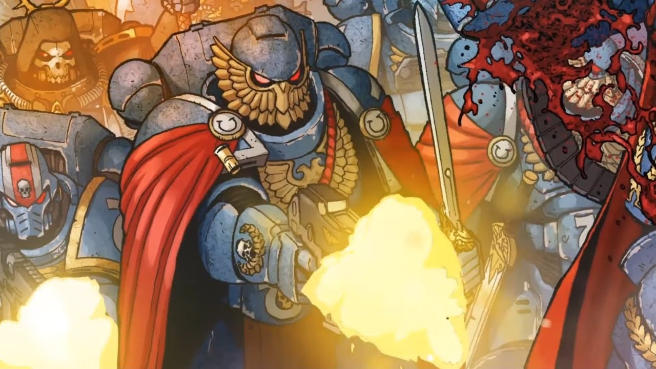 Marneus Calgar Animation Trailer   Marvel Comics