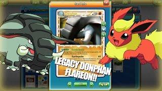 PTCGO LEGACY Donphan Prime/Flareon Deck!! Counter to Legacy Meta! (Pokemon TCG Online)