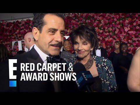 Tony Shalhoub & Katrina Lenk Talk 2018 Tonys and More  E! Live from the Red Carpet