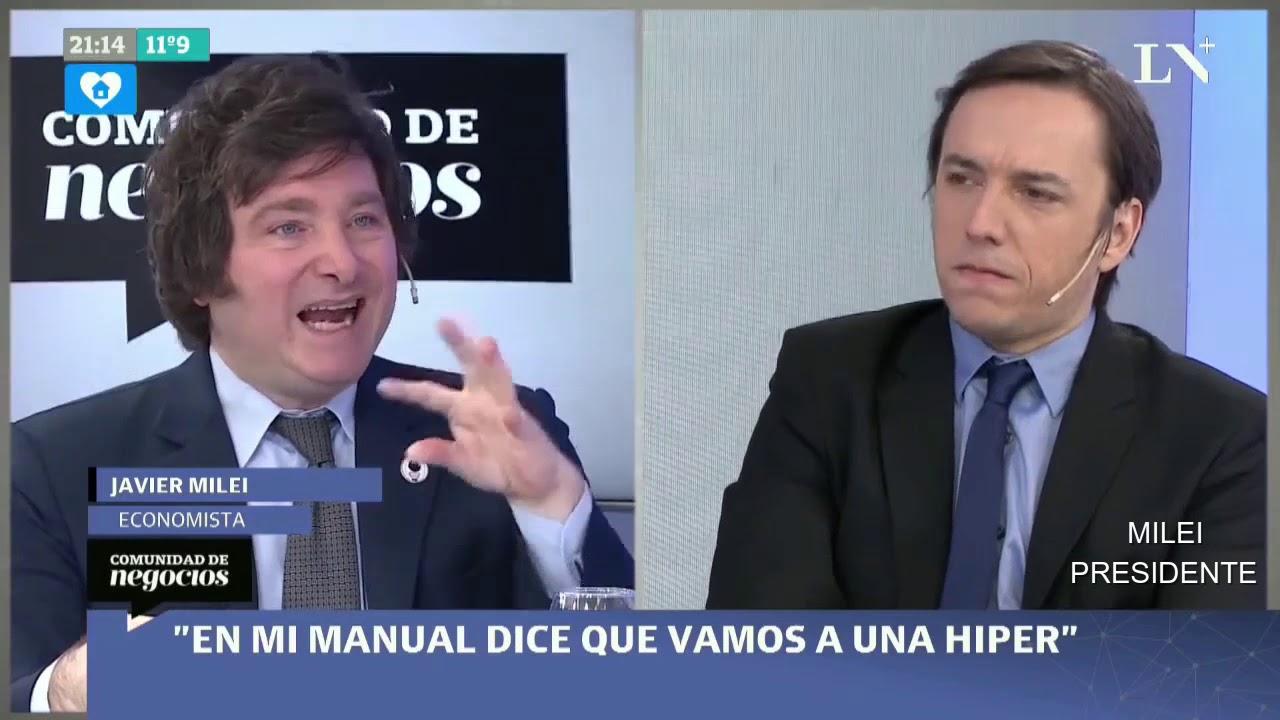 """""""Ya estamos peor que en 2001"""" Javier Milei en LN+- 11/07/20"""