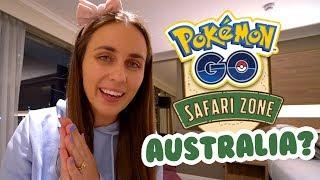 Australia Might Become a Safari Zone in Pokémon GO?!