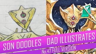 DRAWING with my kids - GOLDEN CELESTIAN [FULL VERSION] No.47
