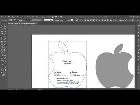 Illustrator cc tutorial design die cut business card youtube illustrator cc tutorial design die cut business card reheart Gallery