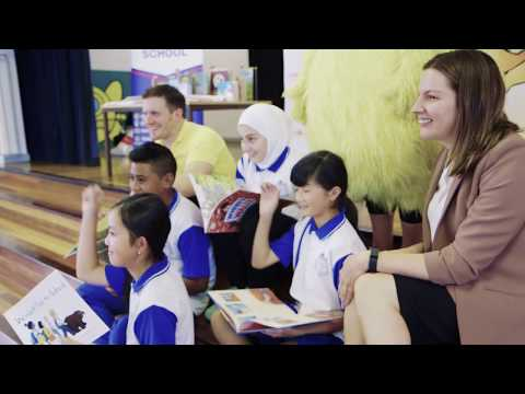 Dymocks Children's Charities 2016 Library Regeneration with Riverwood Public School