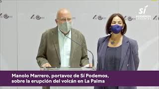 🌋 Manolo Marrero sobre la erupción del volcán en La Palma