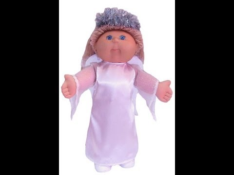 Cabbage Patch Kids Doll Clothes Sewing Pattern Angel Costume - YouTube