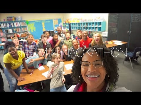 Joye to the World Mini Hackathon at Savannah Grove Elementary School