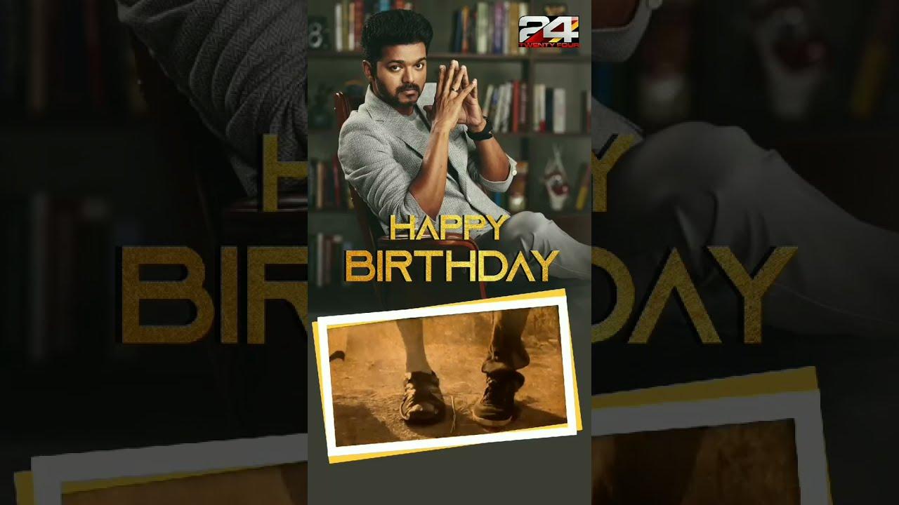 Happy Birthday Vijay #Shorts