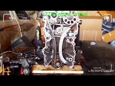 Toyota Hiace Hilex 1TR  2TR Engine Timing