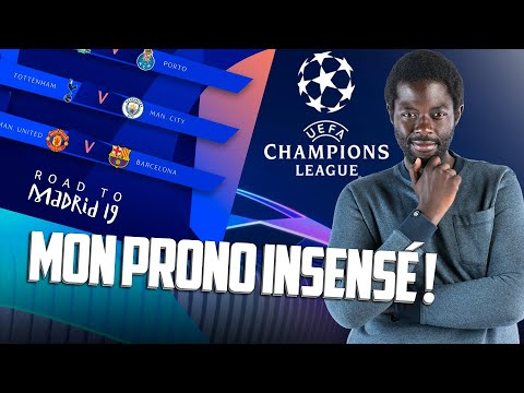 CHAMPIONS LEAGUE - MON PRONO INSENSÉ !