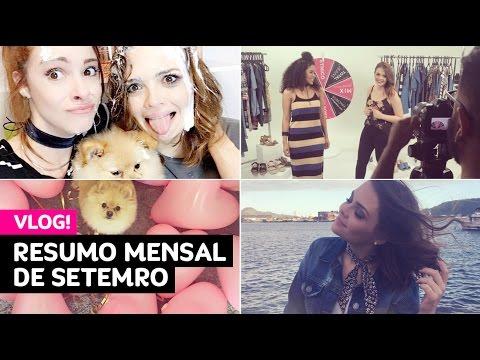 Resumo mensal de setembro (faxina com a Maddu, tour Brasília, viagem pra Santos...) • Karol Pinheiro