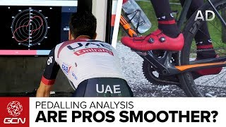 Do Pros Really Pedal More Smoothly?   GCN Does Science