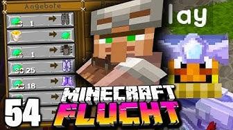 Dieser TYP verkauft uns die STÄRKSTE Rüstung im Spiel ☆ Minecraft FLUCHT #54