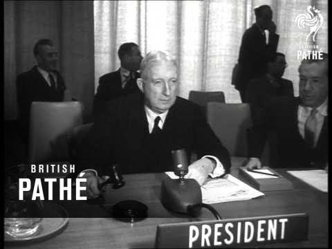 UN Open New Building (1952)