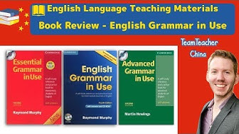 English Grammar in Use Series by Raymond Murphy Book Review - Teaching English (ESL)