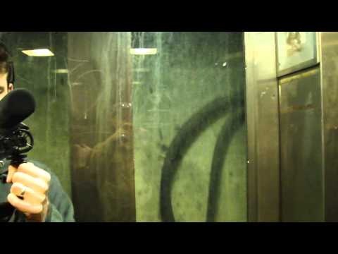 US Elevator Traction elevator @ Rosslyn Metro Station Washington DC
