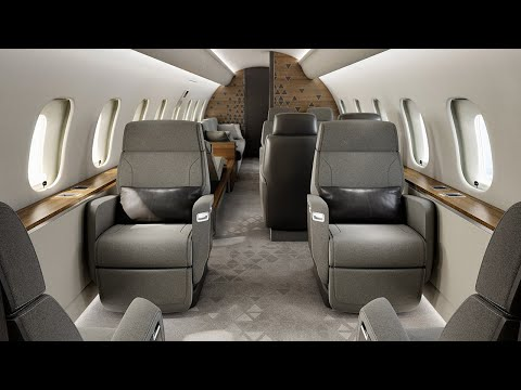 L'avion d'affaires Global 5500