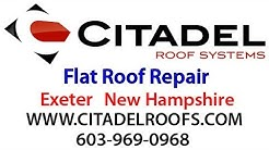 Flat Roof Repair Exeter NH, Flat Roof Leak Repair, Roofing Contractor 03833 Exeter NH Roofer