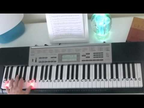 How to Play ~ Safe and Sound ~ Capital Cities ~ LetterNotePlayer ©