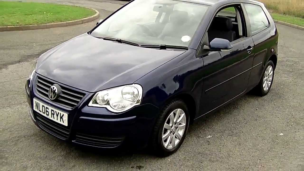 2006 vw polo 1 4 se auto just 19 241 miles 5 495 youtube. Black Bedroom Furniture Sets. Home Design Ideas