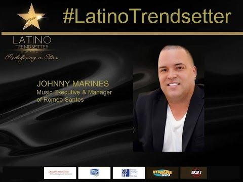 Johnny Marines, Music Impresario & Entrepreneur, 2016 Latino Trendsetter Award Acceptance Speech