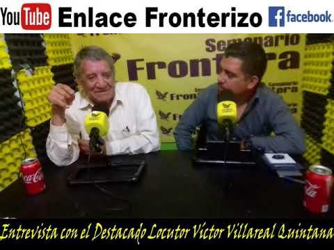 Entrevista con el Locutor Victor Villareal