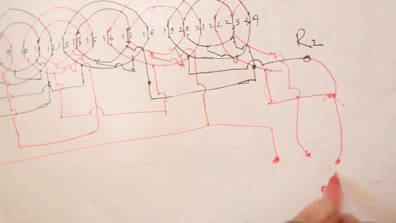 How To Make Pedestal Fan Basket Rewinding Diagram