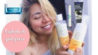 ♡Mi rutina de noche cuidado de piel grasa | My skin care routine oily skin.♡