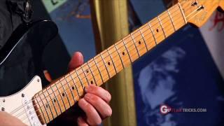 B.B. King Lick Blues Guitar Lesson - Guitar Tricks 64