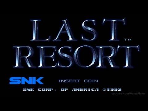 Last Resort 1992 SNK Mame Retro Arcade Games