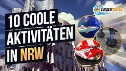 10 coole Freizeitaktivitäten in NRW | Die besten Unternehmungen in Nordrhein Westfalen