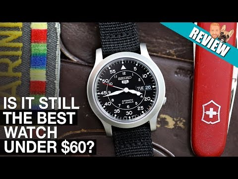 CHEAPEST Automatic Seiko Should You Buy It In 2020? Seiko SNK809 Review