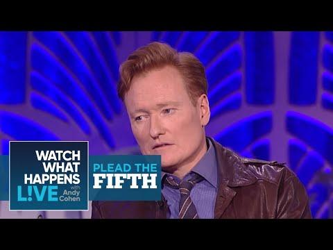 Conan O'Brien Would Shag James Corden? | Plead the Fifth | WWHL
