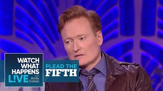 Conan O'Brien Would Shag James Corden? | Plead the Fifth | WWHL