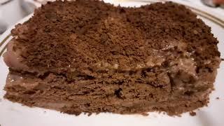 Торт шоколадный без выпечки Очень вкусный торт шоколад food рецепт готовим вкусно