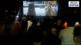 Bairavaa First Show Fans Reaction   Vijay   Keerthi Suresh   Sathish   Santhosh Narayanan