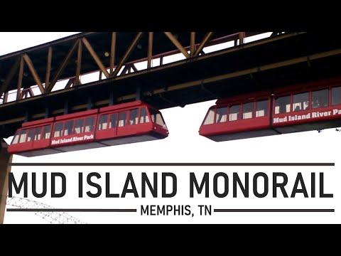 Memphis, TN: Mud Island Monorail