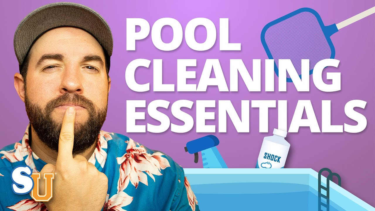 9 POOL CLEANING Supplies You Absolutely Need | Swim University