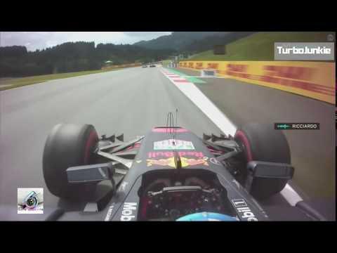 F1 2017 Austrian GP Daniel Ricciardo Podium P3 Team Radio