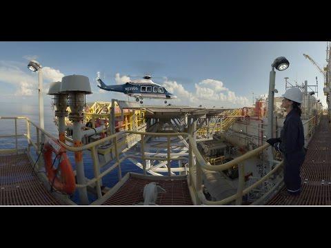 Chevron's Jack/St. Malo Offshore Platform in 360°