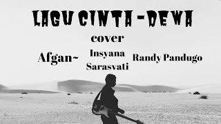 [LIRIK]Afgan, Isyana Sarasvati, Rendy Pandugo - Lagu Cinta ~DEWA