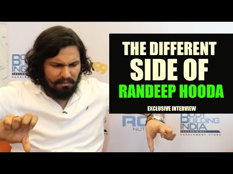 Never seen before Randeep Hooda exclusive
