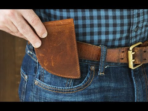 Rogue Industries | Leather Front Pocket Wallet