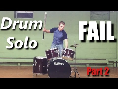 Drum Solo FAIL ( Part 2 ) ┃RockStar FAIL