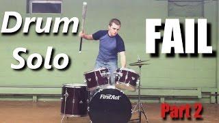Drum Solo FAIL ( Part 2 ) ┃RockStar FAIL